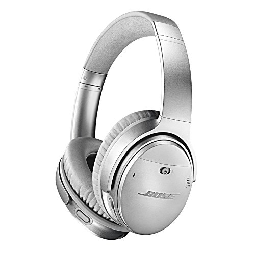 Cuffie Bose QuietComfort 35 II Wireless con Alexa integrata, Argento