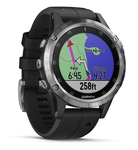 Garmin Fenix 5 Plus Smartwatch Multisport con Mappe GPS, Musica e Pagamento Contactless