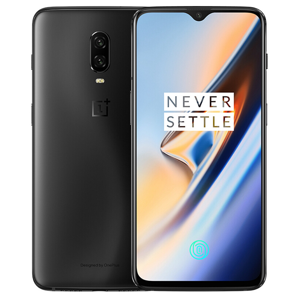 Global ROM Oneplus 6T 6.41 Inch 8GB 128GB Smartphone Midnight Black