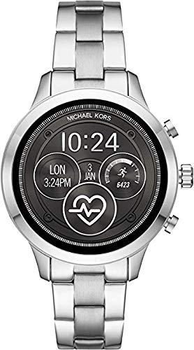 Michael Kors Smartwatch con Cinturino in Acciaio Inox