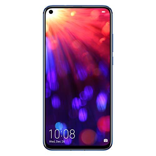 """HONOR View 20 Smartphone, Schermo 6.4"""" FHD+, 8 GB RAM, Fotocamera da 48 MP +3D Camera, 256 GB, Phantom Blue [Italia]"""