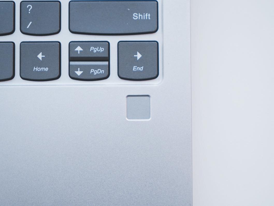 Lenovo Air fingerprint scanner