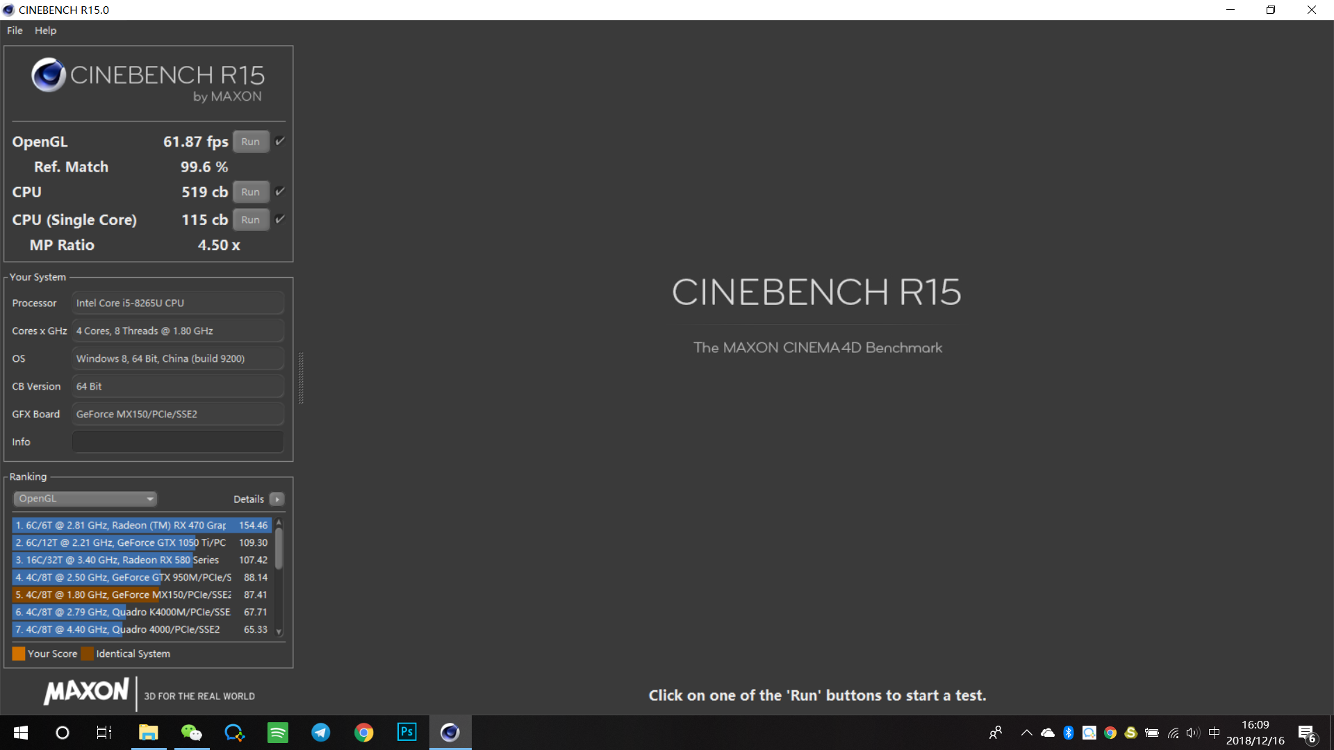 lenovo xiaoxin air cinebench score