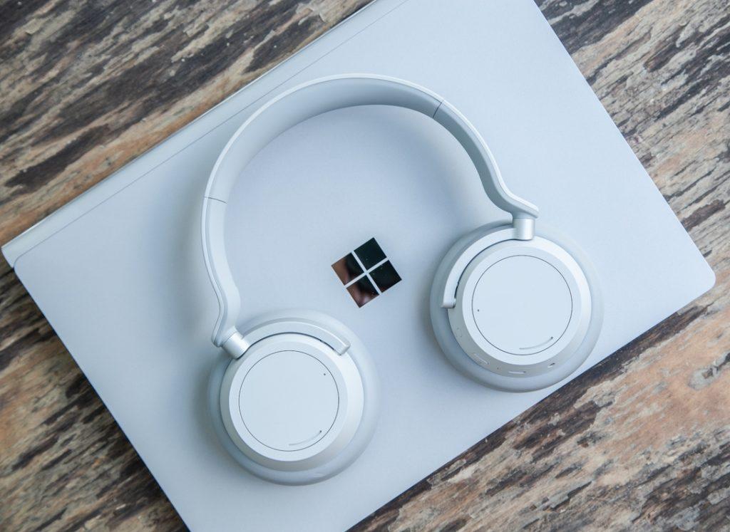 Microsoft, ecco le cuffie Surface con riduzione del rumore