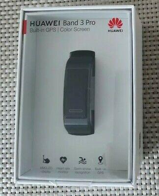 Huawei Band 3 Pro Fitness Wristband Activity Tracker - Black