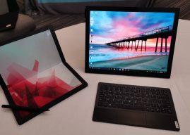 Lenovo presenta il primo PC con schermo pieghevole