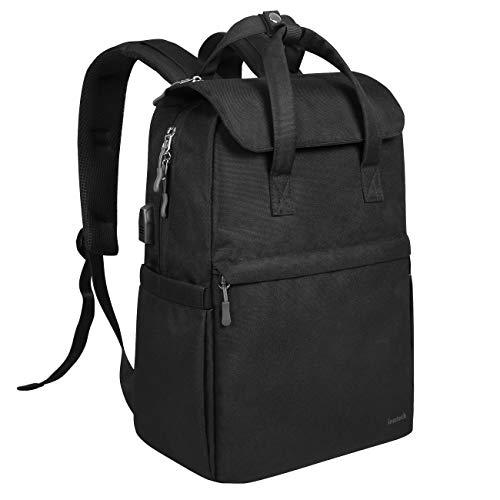 """Inateck Zaino casual leggero per lo sport e la scuola, porta USB e sistema anti borseggio Compatibile con MacBook Pro 15""""/laptop 14"""", da uomo e donna"""