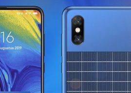 Xiaomi brevetta il design di uno smartphone con un pannello solare sul retro