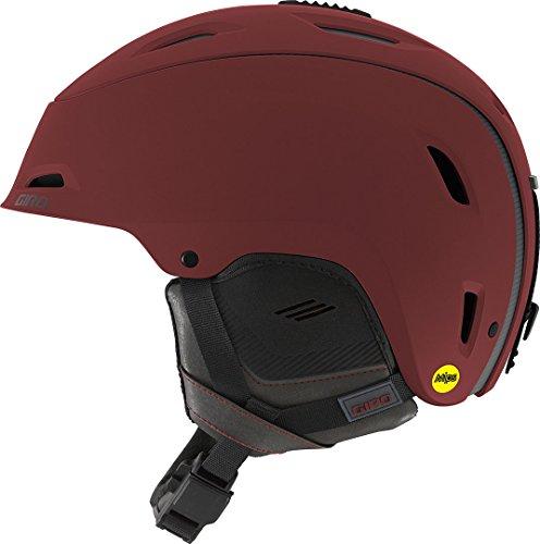 Giro Range MIPS Sci, Snowboard/Sci ABS sintetico, Polistirene espanso (EPS) Nero, Rosso casco protettivo