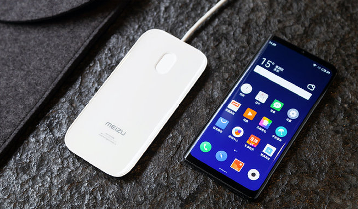 Meizu Zero con ricarica wireless 18W