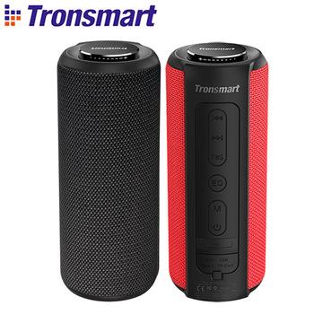 Tronsmart T6 Più Bluetooth Speaker 40W Altoparlante Portatile Profonda Bass Soundbar con IPX6 Impermeabile, Funzione di Accumulatori e caricabatterie di riserva SoundPulse