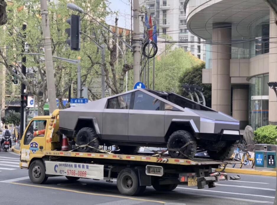 Tesla Cybertruck fatto in casa è diventato virale in China-cnTechPost