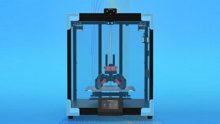 Creality avrà una nuova stampante 3D con un'area di stampa più ampia e ancora più efficiente - Ender-6