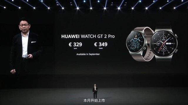 Huawei annuncia gli smartwatch Watch GT 2 Pro e Watch Fit-cnTechPost