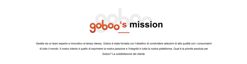 goboo mission